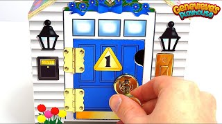 Download Best Learning Video for Kids: Toy Dollhouse w/ Locking Doors and Keys Helps Teach Colors & Counting! Video