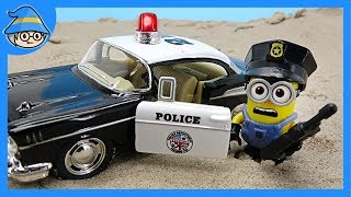 Download Minions became police officers. Would you like to play a police role in a police car? Video