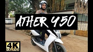 Download Ather 450 - Honest Review | Top Speed | First Ride Video