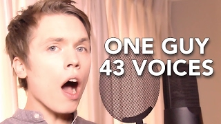 Download One Guy, 43 Voices (with music) - Roomie Video