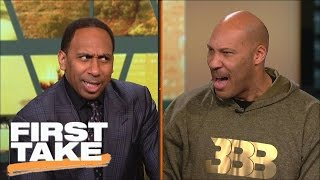 Download LaVar Ball And Stephen A. Have Intense Shouting Match | First Take | March 23, 2017 Video