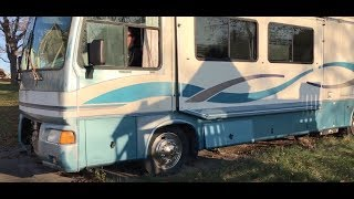 Download Diesel Motorhome Cold Start after Sitting for Years Video