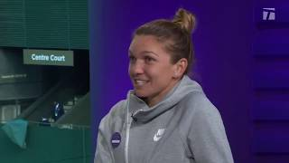 Download Simona Halep: 2019 Wimbledon Final Championship Win Tennis Channel Interview Video
