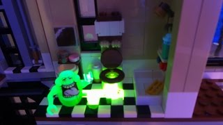 Download Lego 75827 Ghostbusters Firehouse Headquarters Stop Motion / Zeitraffer Aufbauvideo Video