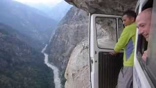 Download Insane Bus Ride in The Himalayas!-Getting To The Mountains Is Exciting As Climbing Them Video
