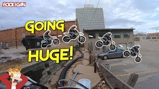 Download Urban Supermoto Exploring | Spencer Almost Dies!! Video