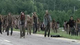 Download Rick And Michonne Kill Walkers With Car Scene Video