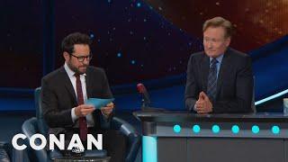 Download J.J. Abrams Gives Conan The Comic-Con® Citizenship Test - CONAN on TBS Video