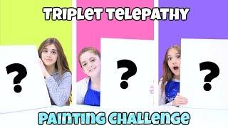 Download Triplet Telepathy Painting Challenge! Video