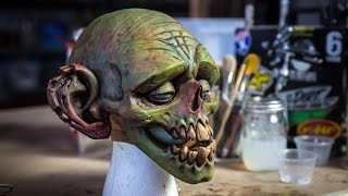 Download How to Paint a Latex Zombie Mask! Video
