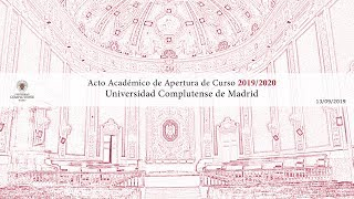 Download Acto de Apertura del Curso Académico Uplutense de Madrid 2019-2020 Video
