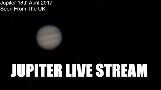 Download Backyard Astronomy: Jupiter Live - 17th/18th April 2017 - Dobsonian Telescope Video