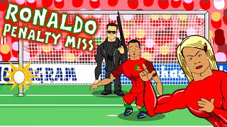Download Cristiano Ronaldo misses a penalty! OOPS HE MISSED IT AGAIN! (Parody Portugal vs Austria 0-0) Video