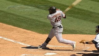 Download Pablo Sandoval hits two homers in the same inning Video