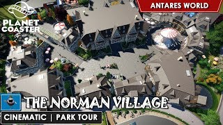 Download Planet Coaster Park tour - The Norman village [CINEMATIC] (Antares World) Video