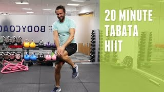Download 20 Minute Tabata-style HIIT Workout   The Body Coach Video