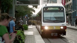 Download Texas cities reap economic boon from light rail Video