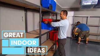 Download How To Declutter Your Garage | Indoor | Great Home Ideas Video