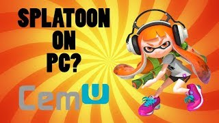Download SPLATOON ON PC? Cemu Wii U emulator setup tutorial Video