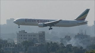 Download [HD] Superb Variety of Planes Spotted at Hazrat Shahjalal International Airport (DAC/VGHS) Video