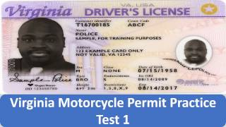 Download Virginia Motorcycle Permit Practice Test 1 Video