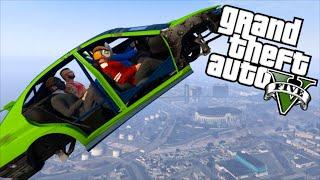 Download GTA 5 Fun - Flying Car Glitch, Stupid Cop, Tank Mugger (Grand Theft Auto V Funny Moments) Video