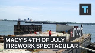 Download Macy's will set off 60,000 fireworks this 4th of July — here's how they set it all up Video