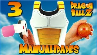 Download 3 MANUALIDADES de DRAGON BALL (RECOPILACIÓN) Video