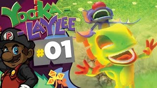 Download HEALTH EXTENDER! - Yooka Laylee - Part 1 (PS4 Gameplay) + GIVEAWAY! Video