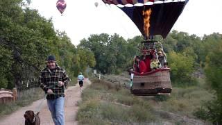 Download Hot Air Balloon Landing Video