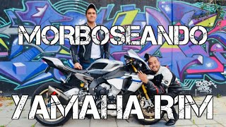 Download MORBOSEANDO YAMAHA R1M #FULLGASS Video