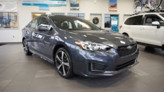 Download 2017 Subaru Impreza Sport Walkaround Video
