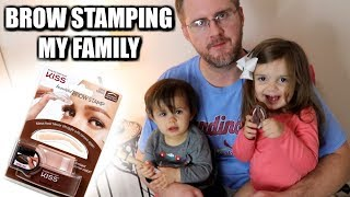 Download BROW STAMPING MY FAMILY Video