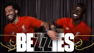 Download BEZZIES with Salah and Mane | Fastest? Best haircut? Coffee or Lovren? Video