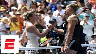 Download 2018 US Open highlights: No. 1 Simona Halep upset in 1st round by Kaia Kanepi | ESPN Video