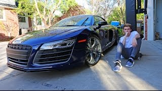 Download MY NEW CAR - AUDI R8 (16 years old) Video