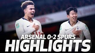 Download HIGHLIGHTS | ARSENAL 0-2 SPURS (Carabao Cup quarter-final) Video