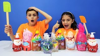 Download Don't Choose the Wrong Soap Slime Challenge Video
