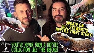 Download YOU'VE NEVER SEEN A REPTILE COLLECTION LIKE THIS BEFORE: UPDATE! (Bill Stewart reptile theft story) Video