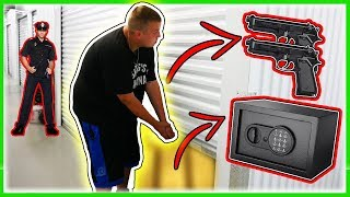 Download I Bought 2 Abandoned Storage Units! Found Guns And A Safe! Video