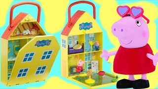 Download PEPPA PIG House & Garden Playset, Toy Hunting George, Kinder Chocolate Egg, My Little Pony / TUYC Video