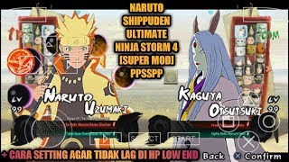 Download CARA DOWNLOAD Di ANDROiD GAME NARUTO ULTiMATE NiNJA STORM 4 [SUPER MOD] PPSSPP Video