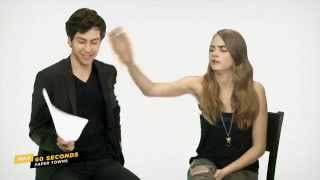 Download Max 60 Seconds with Paper Town's Cara Delevingne (Cinemax) Video