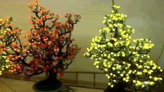 Download LED Application - Cây mai bonsai bằng đèn LED (LED bonsai) Video