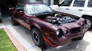 Download 1980 Chevrolet Camaro Z28 Restoration Project Video