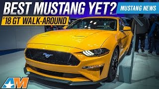 Download 2018 Mustang In Person Review At The New York Auto Show    2018 Ford Gt + Dodge Demon Sneak Peak Video