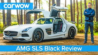Download Mercedes-AMG SLS Black Series review - see why they're now worth £750,000! Video