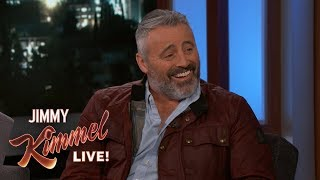Download Matt LeBlanc on Man with a Plan & the Monkey from Friends Video