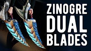 Download LED Zinogre Dual Blades - Monster Hunter Video
