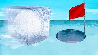Download DANGEROUS FROZEN HOLE IN ONE! (Golf It) Video